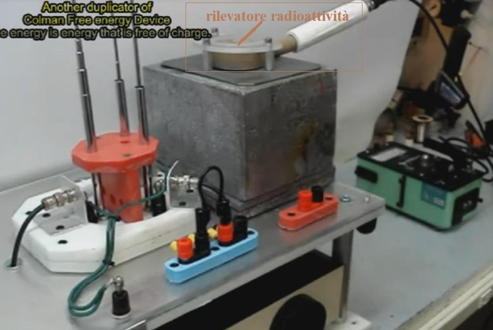 Rilevatore radioattività